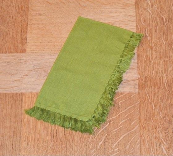 steve mckenzie's cloth napkin