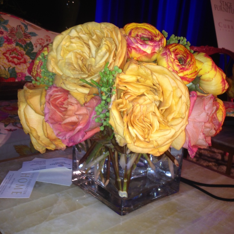 Stage floral at DBC