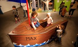 Sendak_Where The Wild Things Are _ Max's Boat