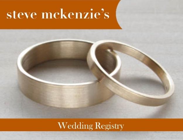 sm's wedding registry
