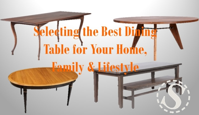 Dining table selection