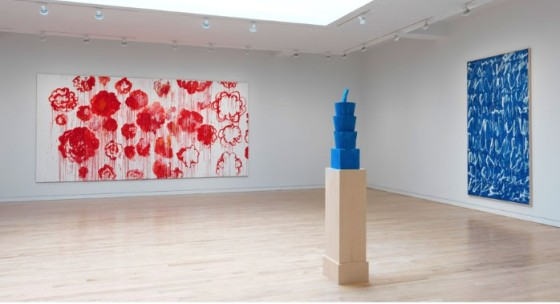 """Cy Twombly"" Instillation View Artwork © Cy Twombly Foundation. Collection Cy Twombly Foundation. Photo by Rob McKeever"