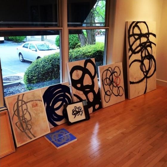 gallery show prep