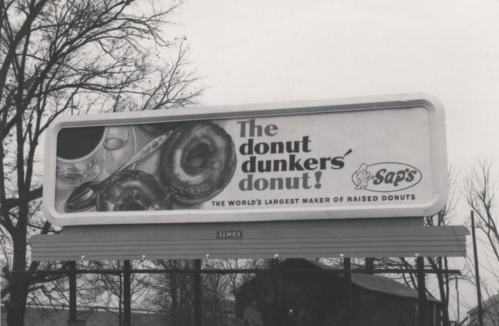 Sap's donuts billboard