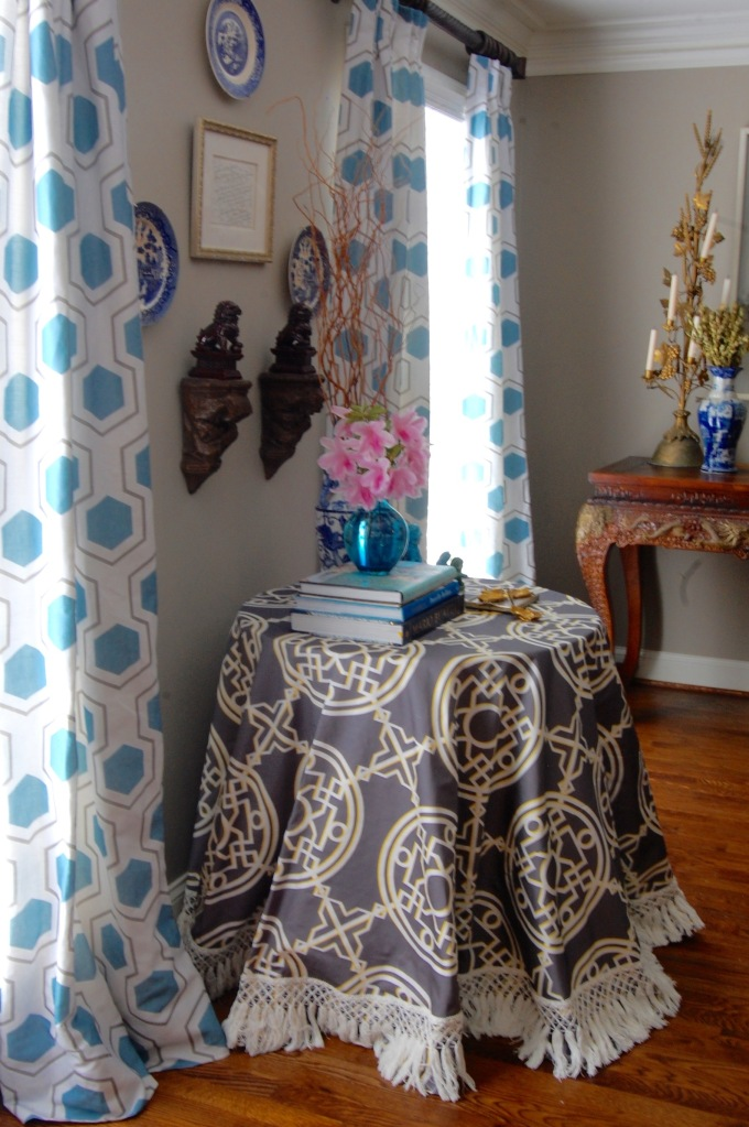 Bombay Table Skirt_Capri Drapes