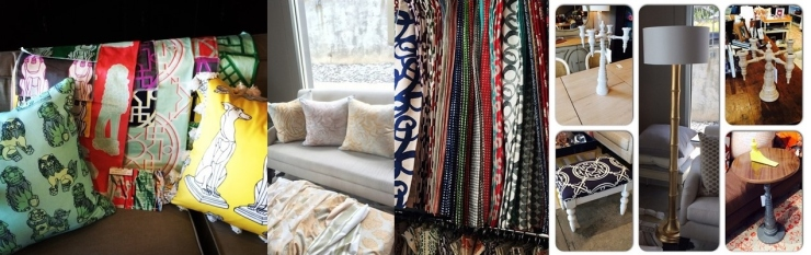 Textiles from Cotton + Quill, steve mckenzie's fabric collections, pieces by Dunes & Duchess