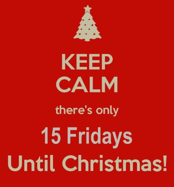Christmas Friday countdown