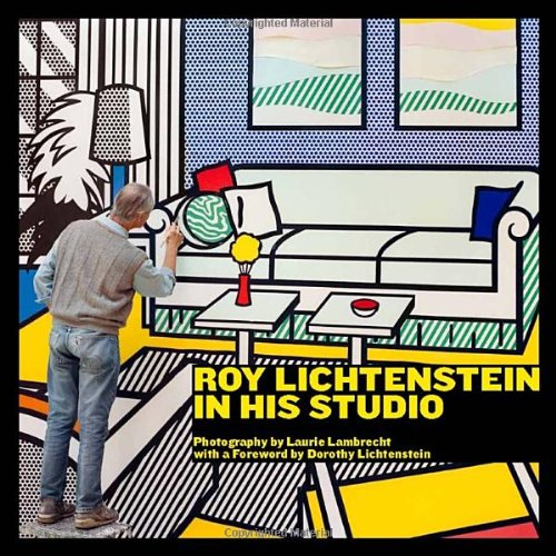 Roy Lichtenstein in His Studio by Laurie Lambrecht