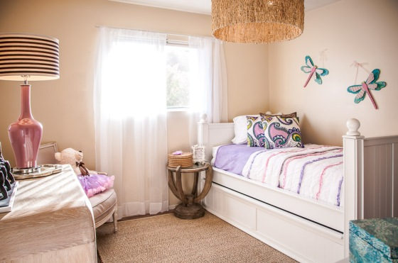 And the kid's room after - an awesome space to inspire confidence and give this little one a spectacular place to call their own.