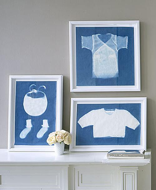custom framed baby items
