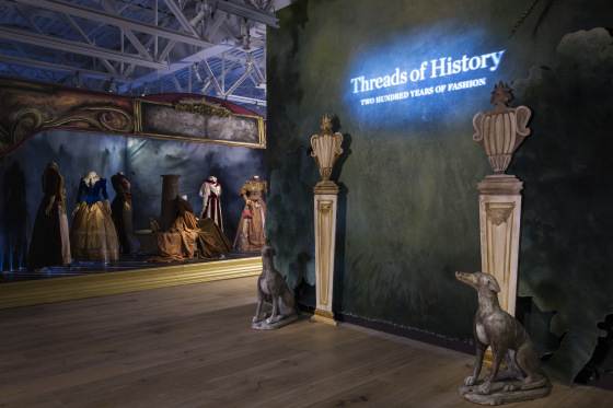 """SCAD Atlanta – Fall 2016 – Exhibitions – """"Threads of History: Two Hundred Years of Garments"""" – Garment Documentation – SCADFash – Photography by Raftermen Photography"""