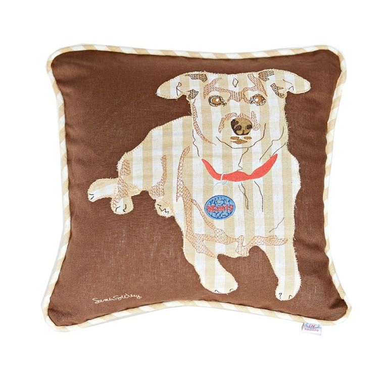 dog, gift, pillow, art,